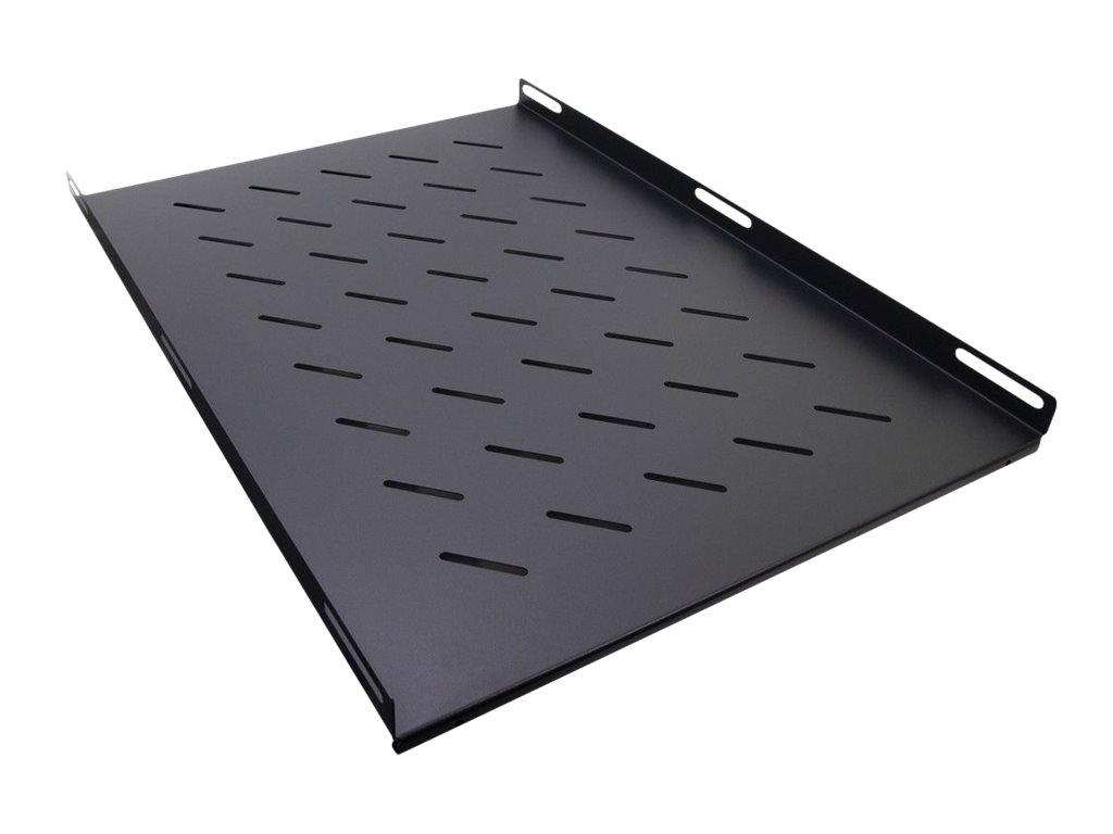 """Inter-Tech SW-650/1000 - Rack - Regal - Seite - Schwarz, RAL 9005 - 1U - 48.3 cm (19"""")"""