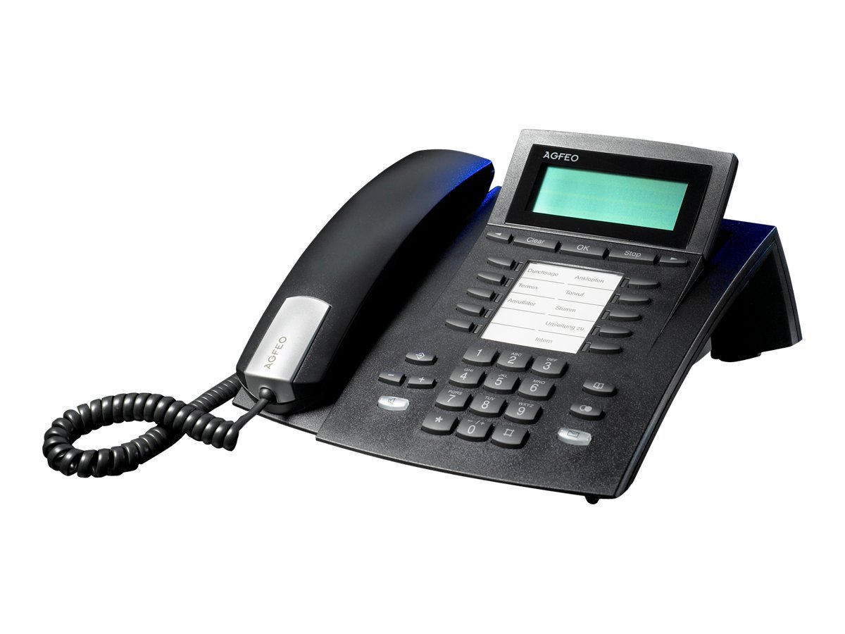 AGFEO ST 22 - ISDN-Telefon - Schwarz