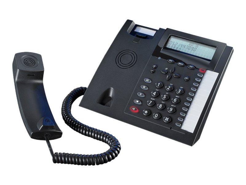 AGFEO T 18 - Telefon mit Schnur mit Rufnummernanzeige