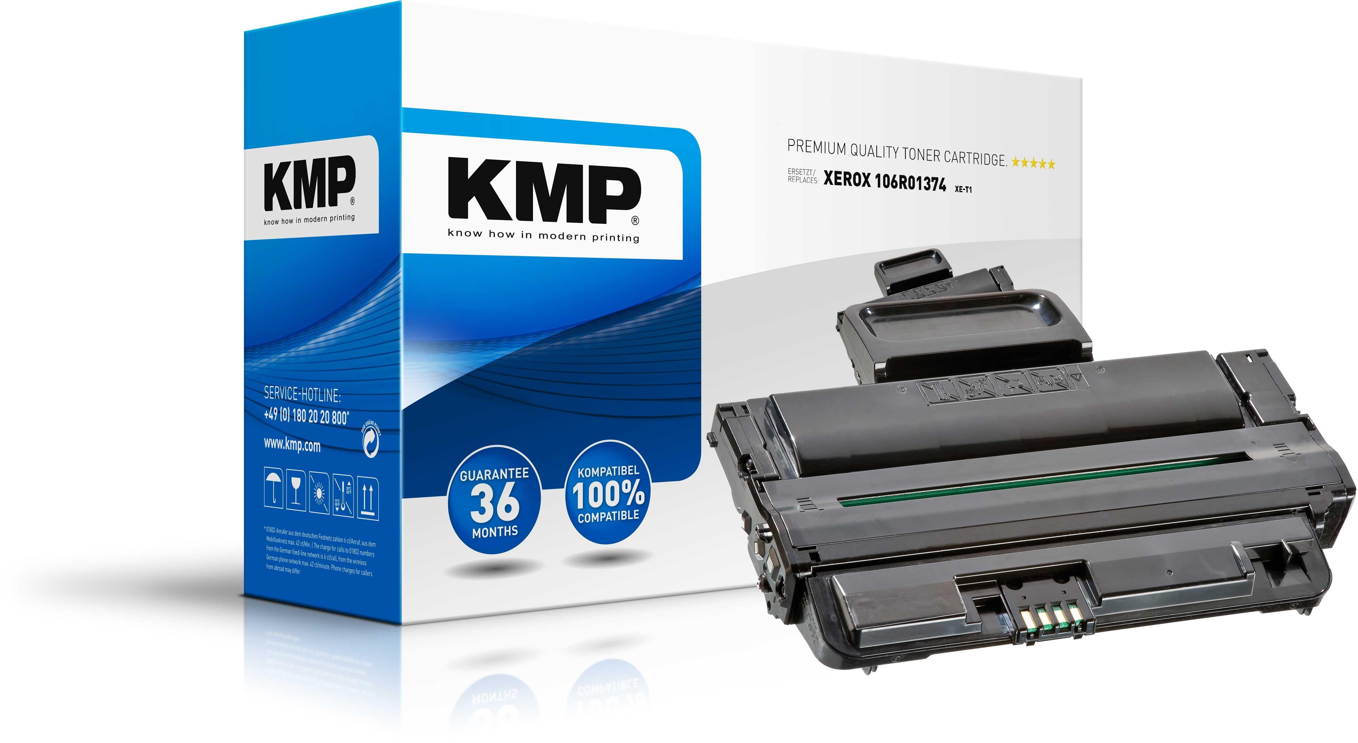 KMP XE-T1 - Mit hoher Kapazität - Schwarz - compatible