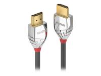 37872 2m HDMI Type A (Standard) HDMI Type A (Standard) Grau - Silber HDMI-Kabel