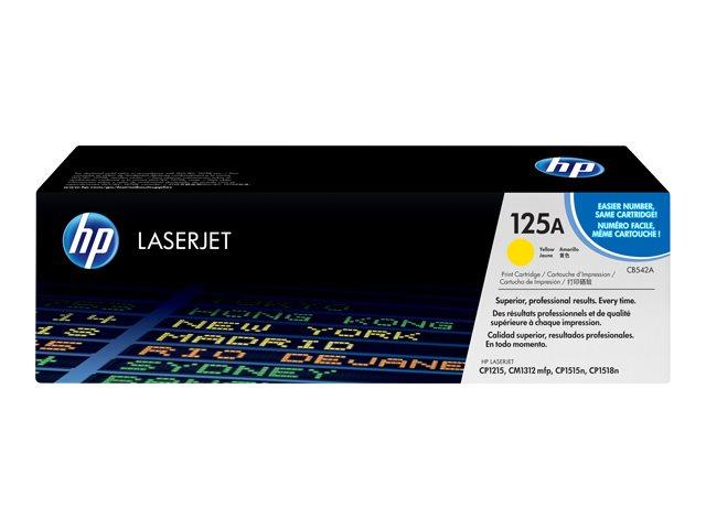 HP 125A - Gelb - Original - LaserJet - Tonerpatrone (CB542A)