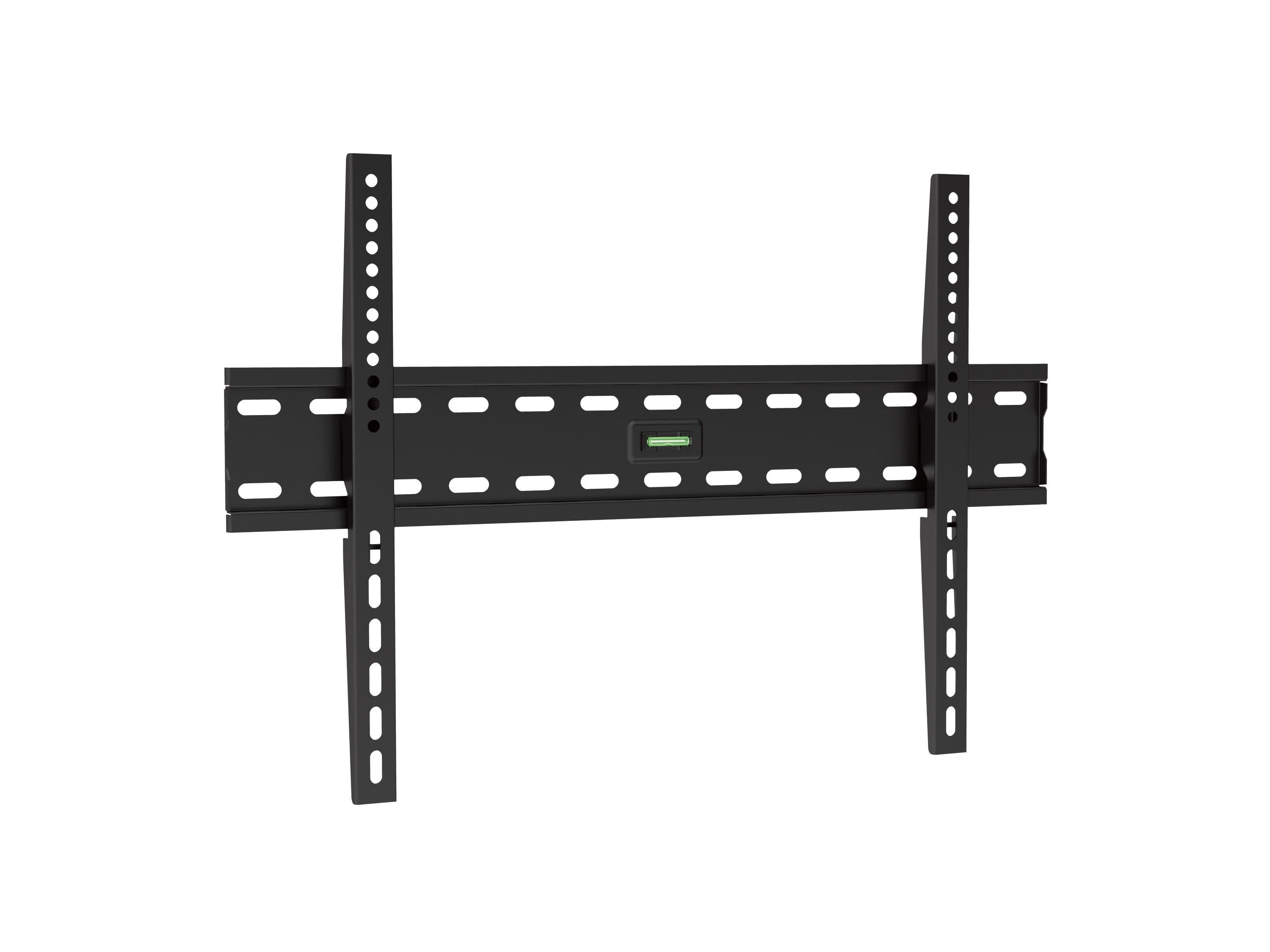 """equip Life Slim - Wandhalterung für LCD-/Plasmafernseher - kaltgewalzter Stahl - Schwarz - Bildschirmgröße: 94-178 cm (37""""-70"""")"""