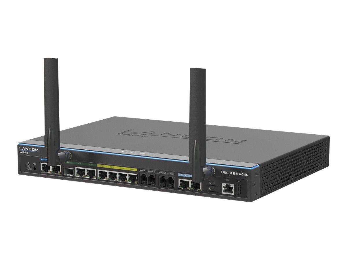 Vorschau: Lancom 1926VAG-4G - Router - ISDN/WWAN/DSL - 4-Port-Switch