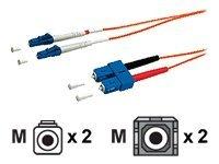 Digital Data Communications Patch-Kabel - LC Multi-Mode (M) bis SC multi-mode (M)