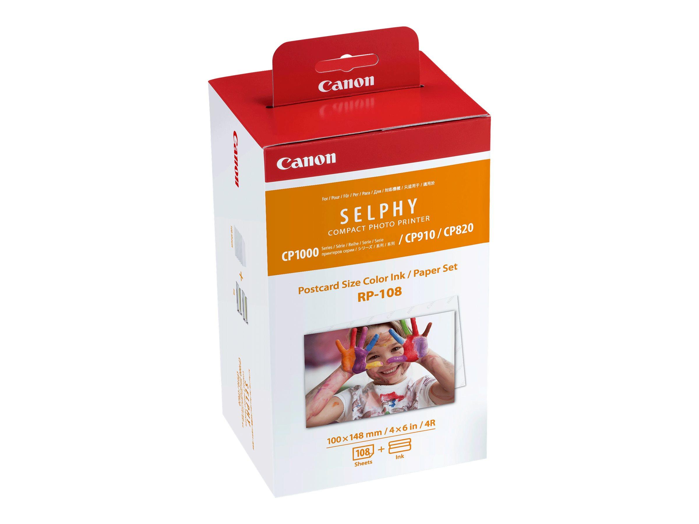 Canon RP-108 - Farbbandkassetten- und Papier-Kit
