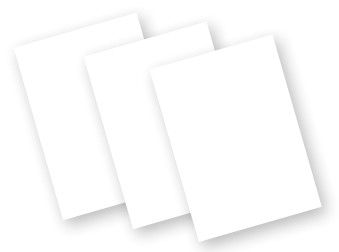 Motorola Solutions Motorola - Schutzfolie (Packung mit 3) - für Zebra MC55