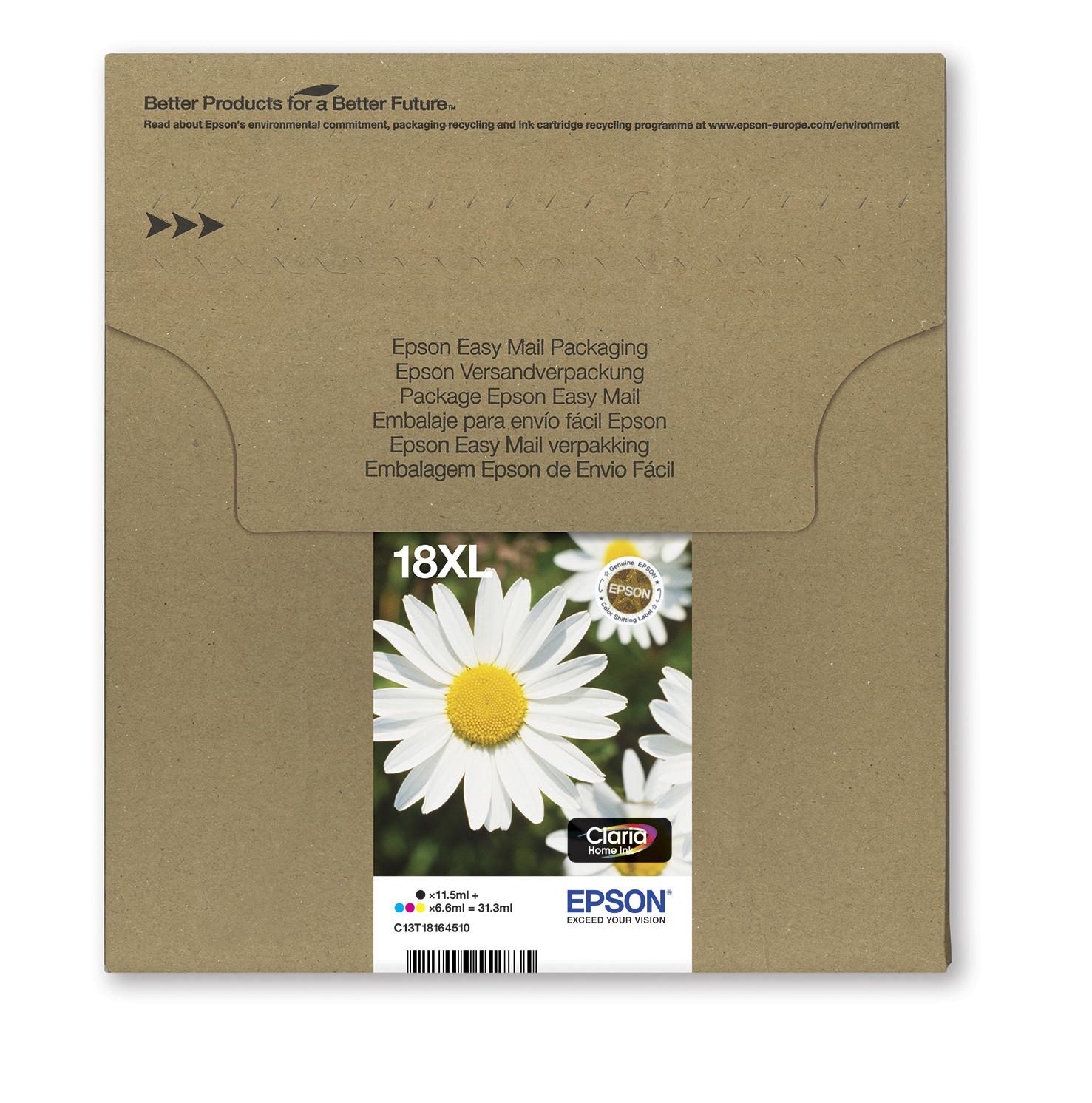 Epson-C13T18164511-Daisy-Multipack-4-colours-18XL-EasyMail-Original thumbnail 4