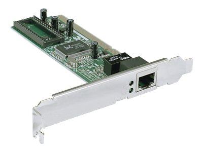 IC Intracom Intellinet Gigabit PCI Network Card, 32-bit 10/100/1000 Mbps Ethernet LAN PCI Card