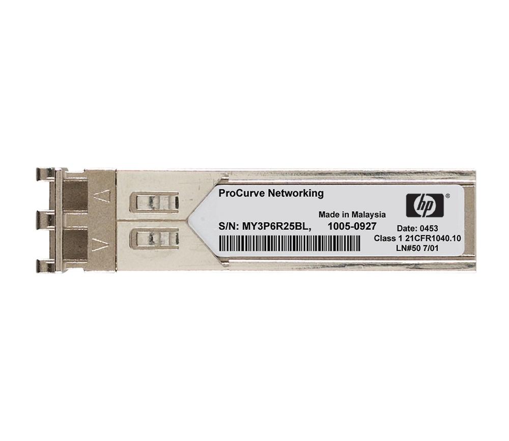 HP X170 1G SFP LC LH70 1510 Transceiver (JD115A) - REFURB