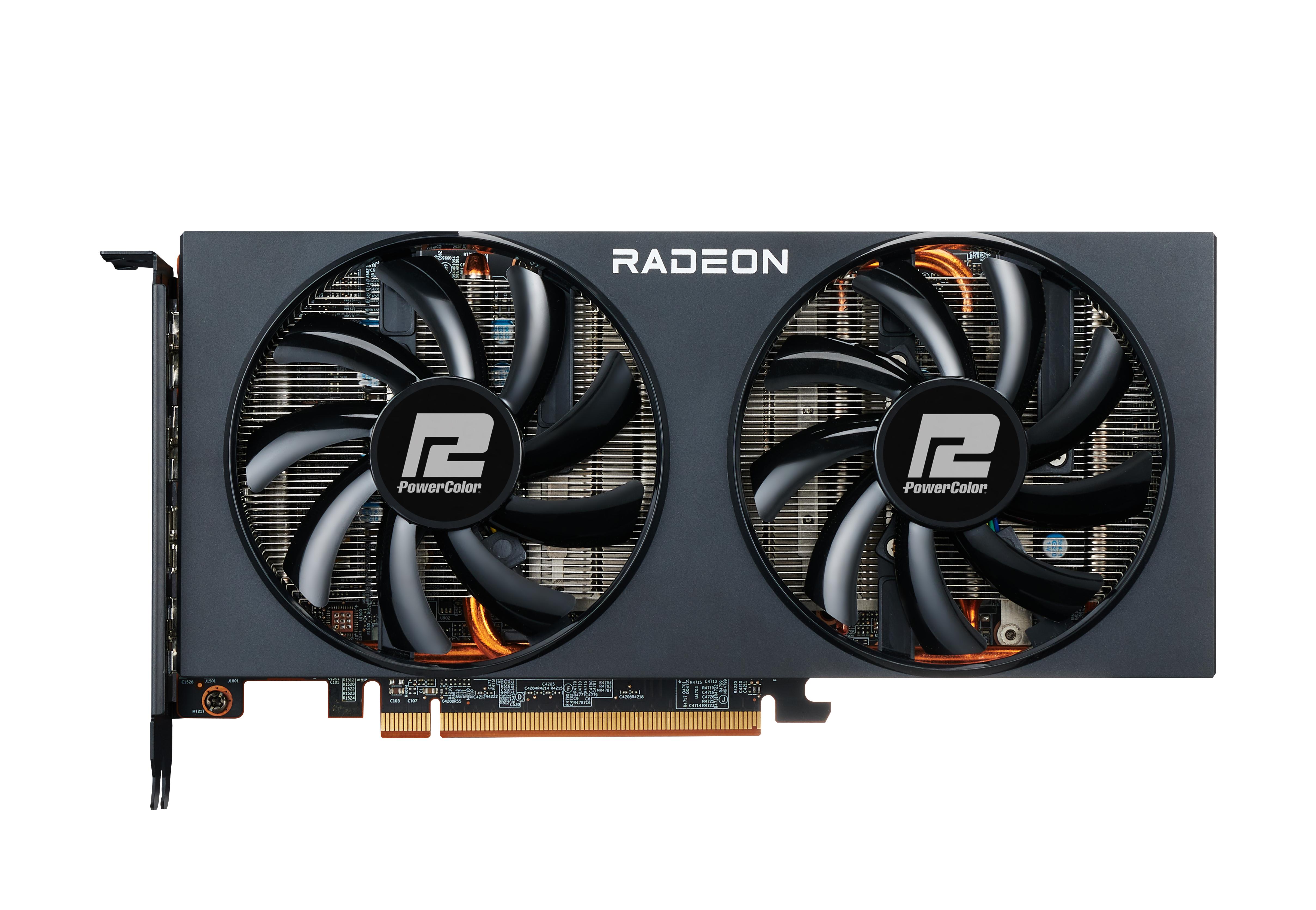 Vorschau: PowerColor AXRX 6700XT 12GBD6-3DH - Radeon RX 6700 XT - 12 GB - GDDR6 - 192 Bit - PCI Express 4.0 - 2 Lüfter
