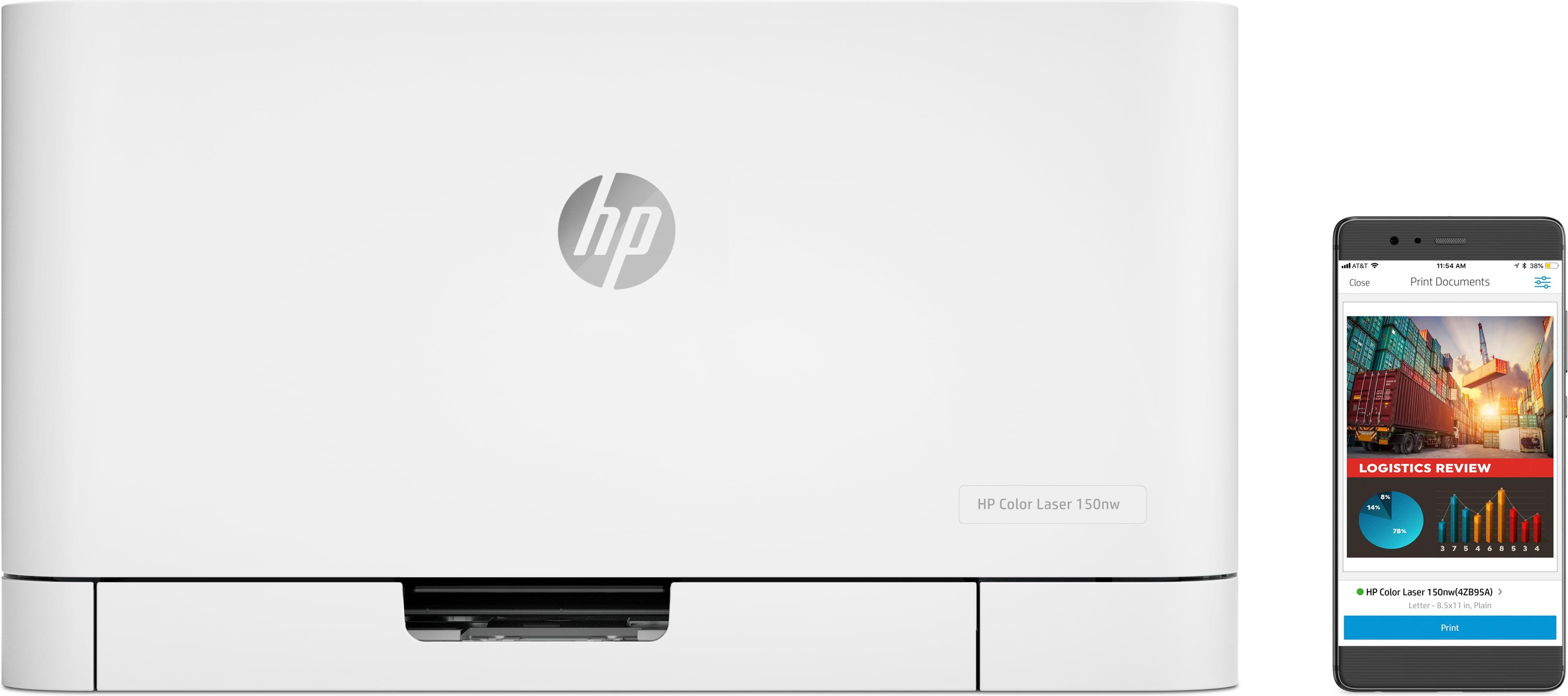 HP Color Laser 150a - Laser - Farbe - 600 x 600 DPI - A4 - 18 Seiten pro Minute