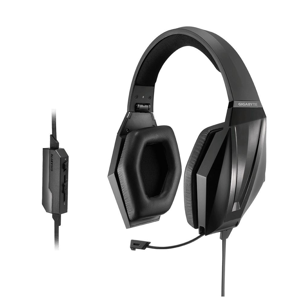 Gigabyte FORCE H3X Binaural Kopfband Schwarz Headset
