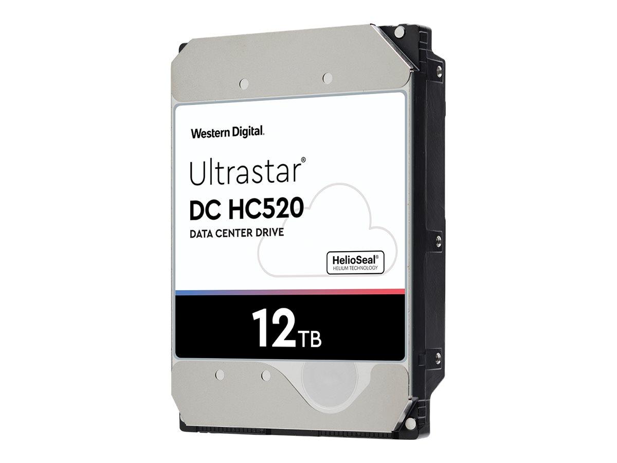 "WD Ultrastar DC HC520 HUH721212AL4204 - Festplatte - 12 TB - intern - 3.5"" (8.9 cm)"
