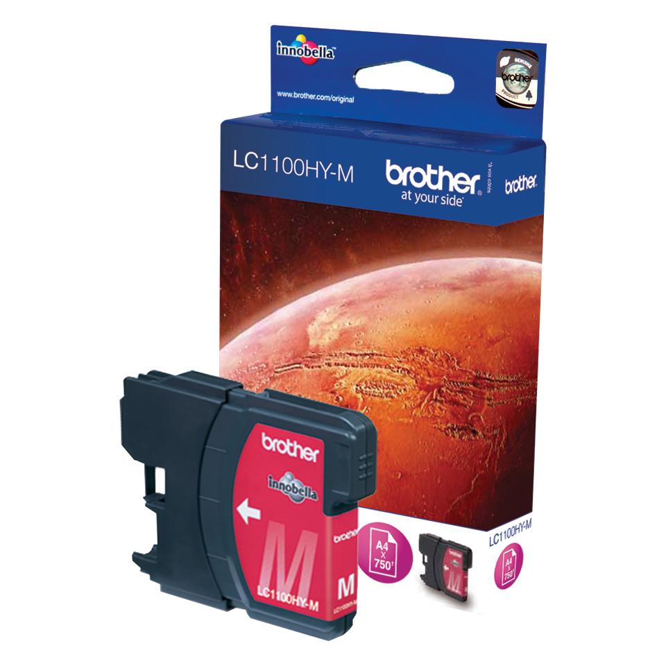 Brother LC LC1100HYM - Tintenpatrone Original - Magenta - 16 ml