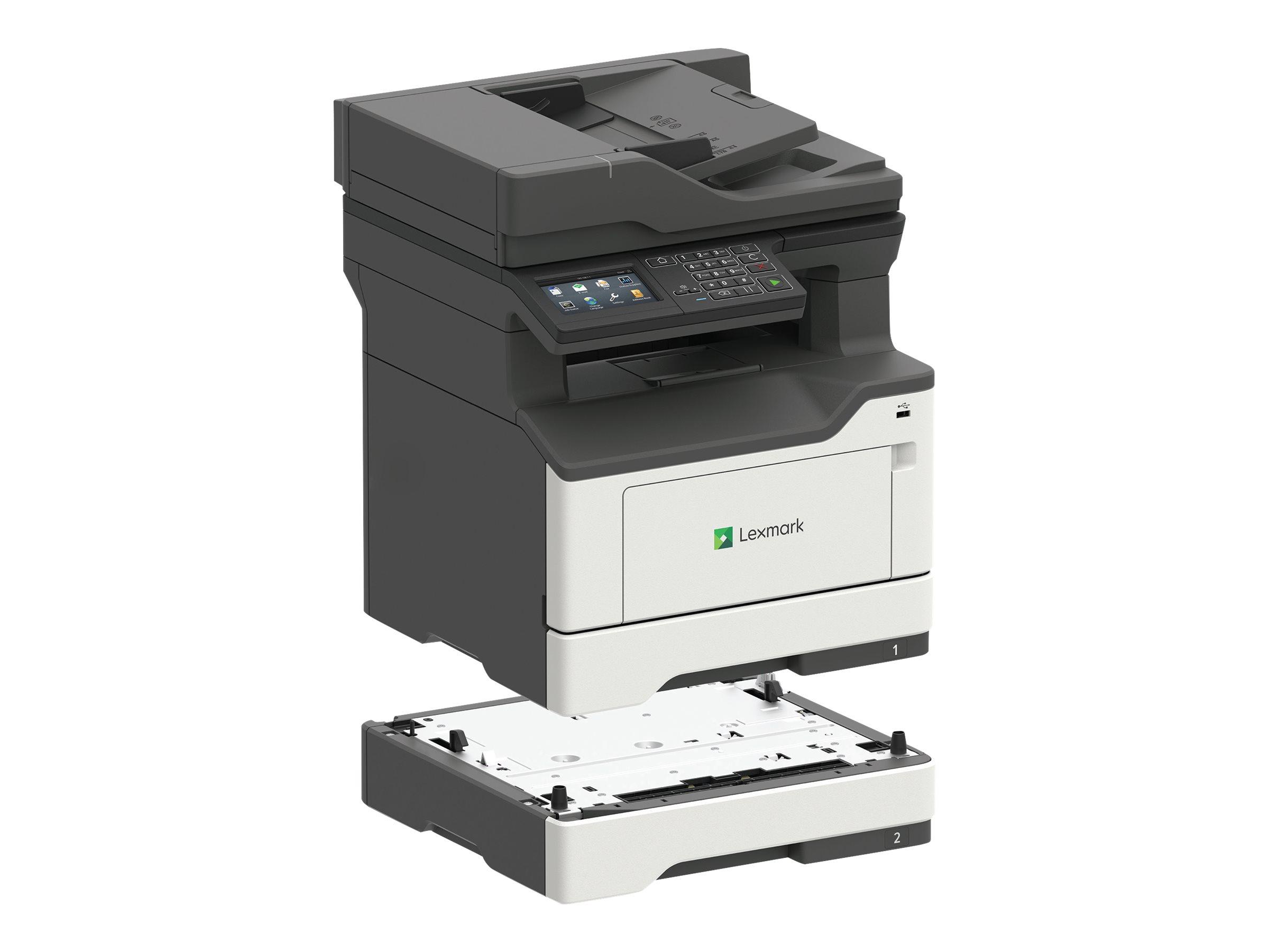 Lexmark MX421ade - Multifunktionsdrucker - s/w - Laser - 215.9 x 355.6 mm (Original)