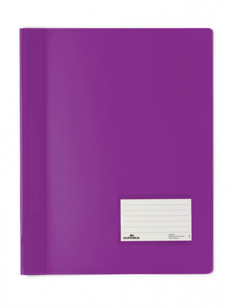Durable Document Folder - PVC - Violett - 57 x 90 mm - 1 Stück(e)