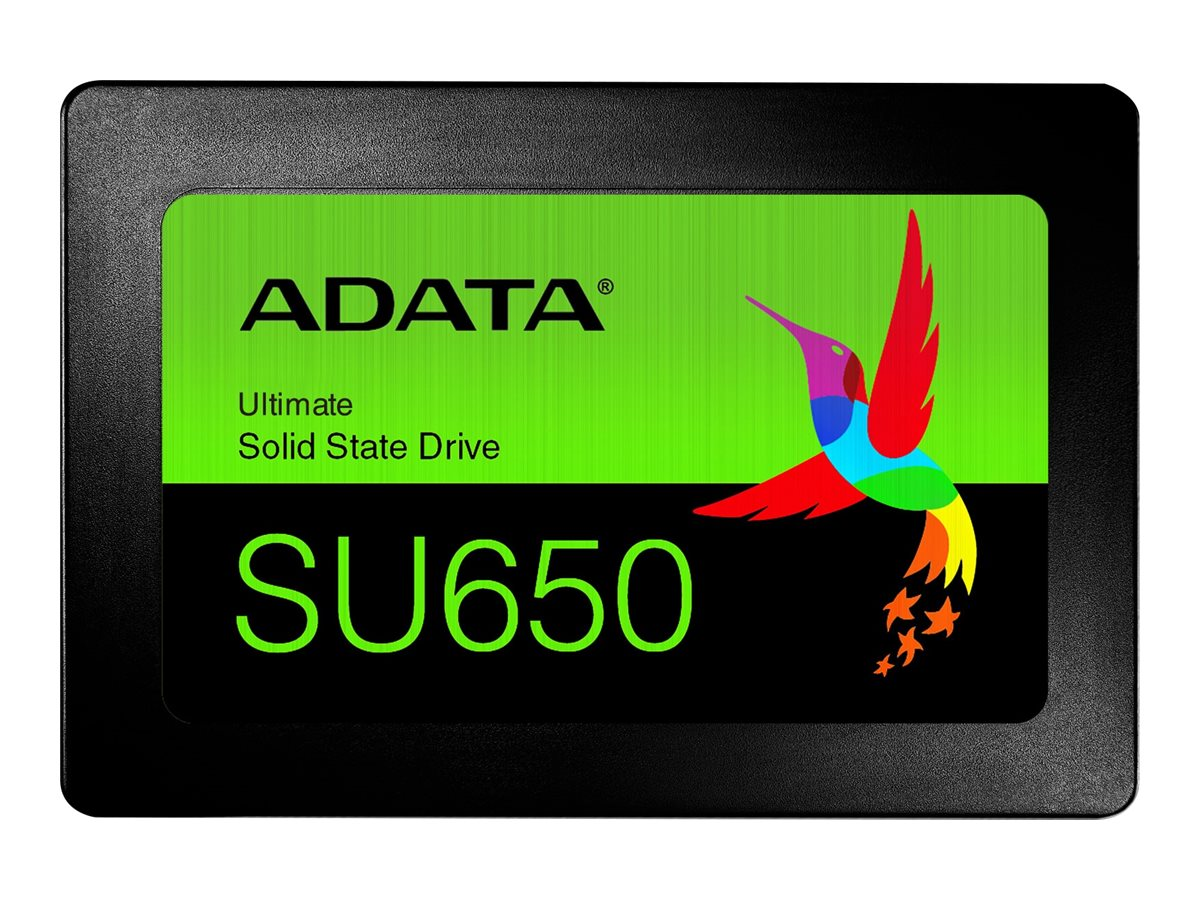 "ADATA Ultimate SU650 - 256 GB SSD - intern - 2.5"" (6.4 cm)"