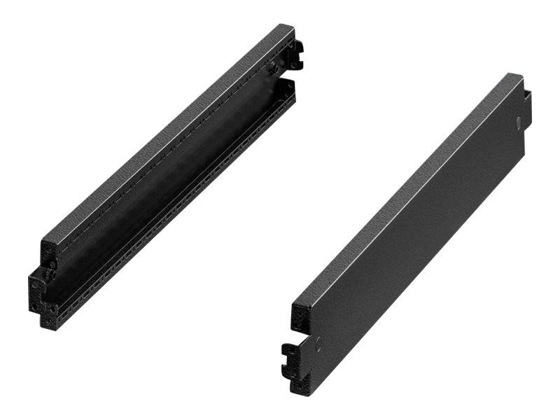 Vorschau: Rittal VX - Rackbasis/-sockel - RAL 9005 (Packung mit 2)