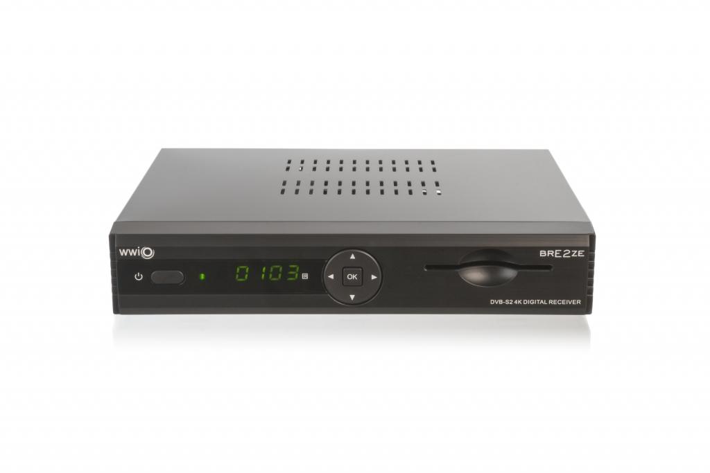 WWIO Elektronik WWIO BRE2ZE 4K - Satellit - Full HD - DVB-S2 - 10,1000 Mbit/s - 1000 MB - 4000 MB