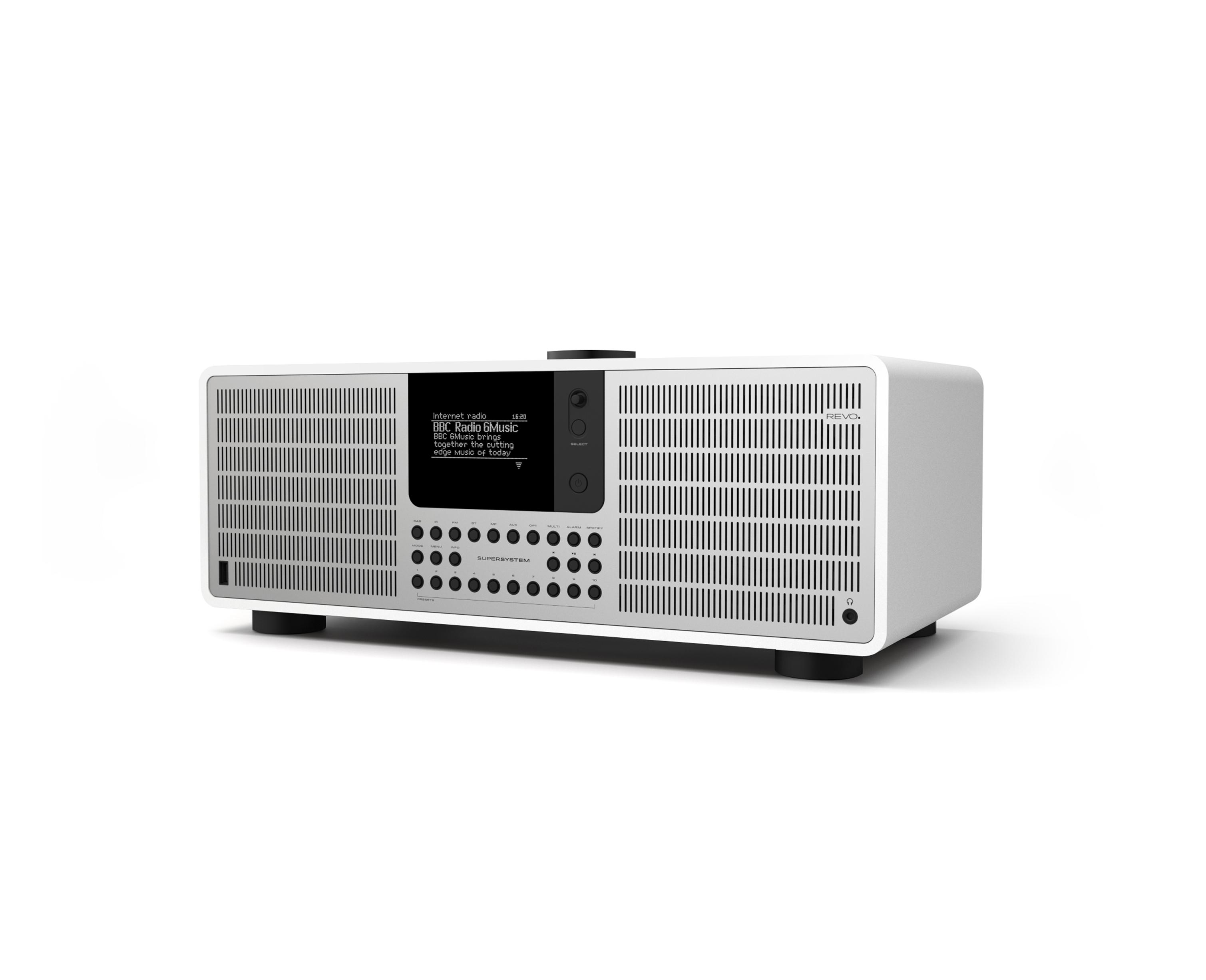 REVO Technologies SuperSystem - Persönlich - Digital - DAB+,DMB,FM - 80 W - OLED - 6,86 cm (2.7 Zoll)
