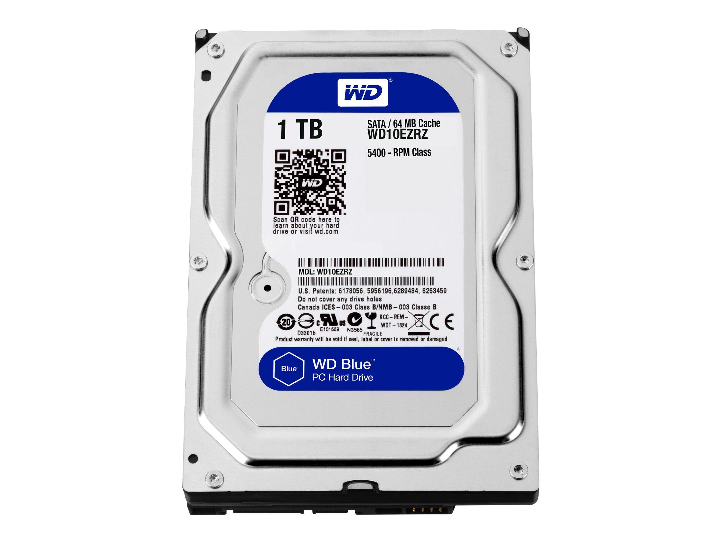 "WD Blue WD10EZRZ - Festplatte - 1 TB - intern - 3.5"" (8.9 cm)"