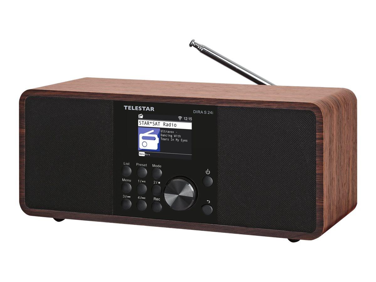 Vorschau: Telestar DIRA s 24i - Netzwerk-Audioplayer / DAB-Radiotuner - 30 Watt (Gesamt)