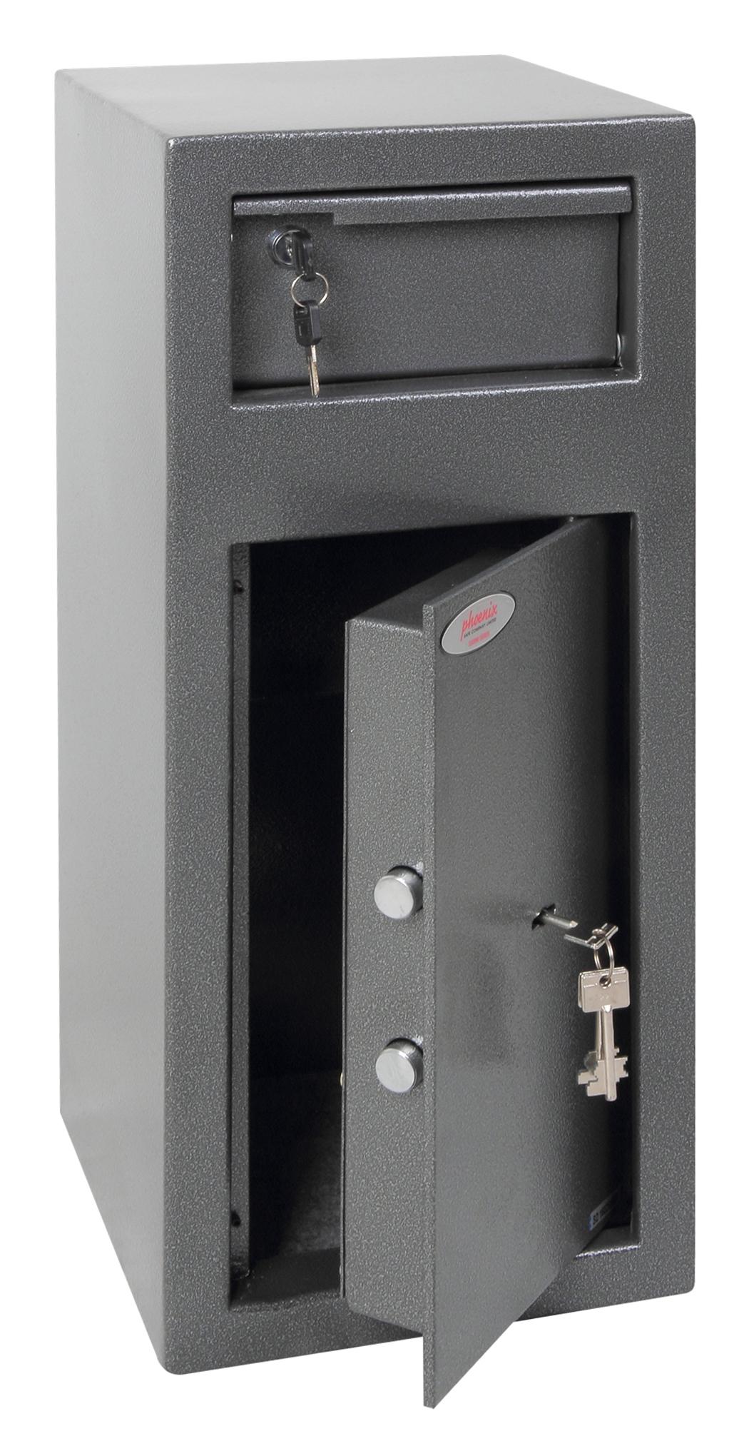Phoenix Safe Phoenix SS0992KD - Frei stehend sicher - Grau - Schlüssel - Stahl - Geld - 250 mm