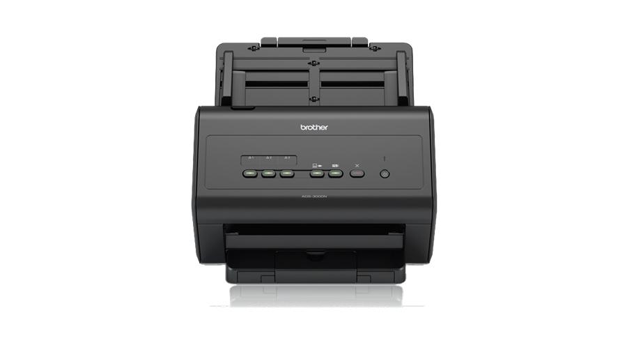 Brother ADS-3000N ADF scanner 600 x 600DPI A4 Schwarz Scanner
