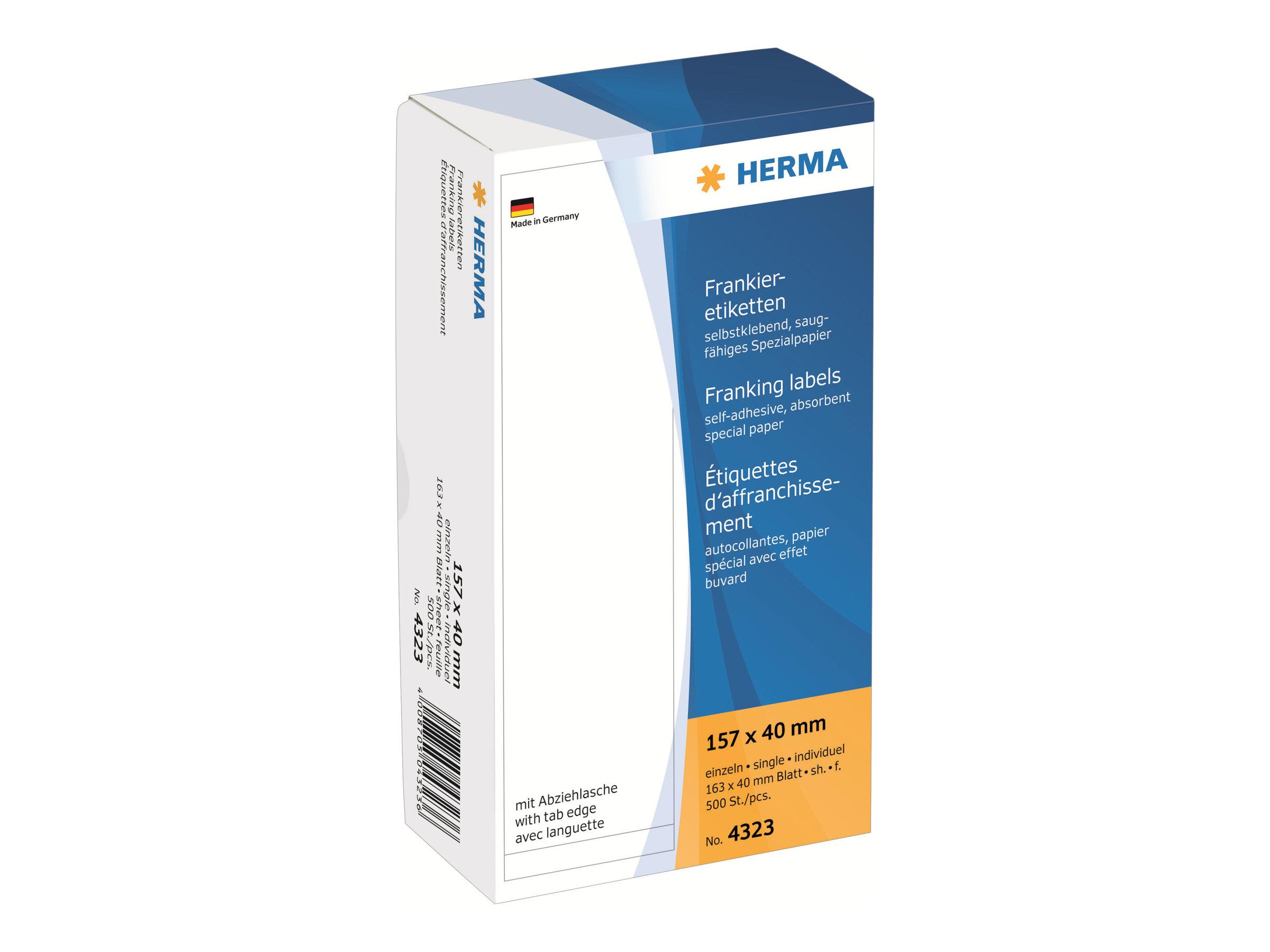 HERMA Franking labels - Papier