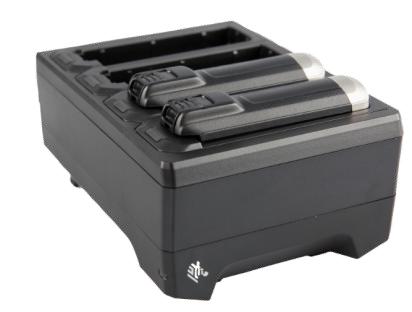 Zebra 4-slot battery charger - Batterieladegerät