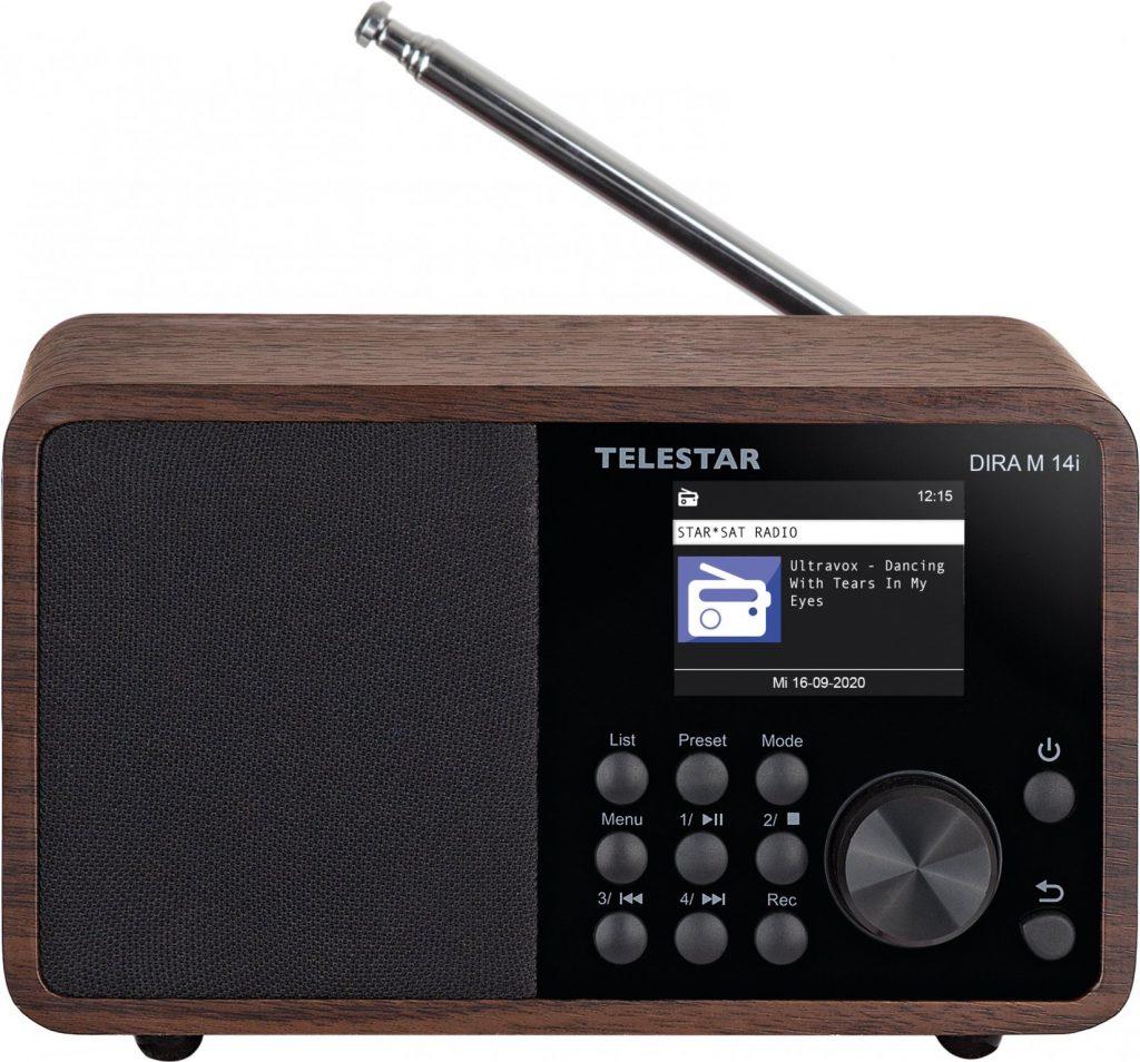 Telestar DIRA M 14i - Netzwerk-Audioplayer / DAB-Radiotuner - 15 Watt (Gesamt)