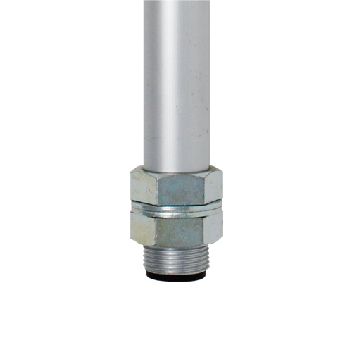 Patlite POLE22-0800AT - Montageset - Stange - Aluminium - Aluminium - PATLITE LR4-PJ/QJ - LR5-PJ/KT - LR6-PJ/QJ - LR7-KT - 800 mm
