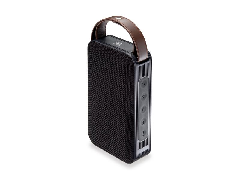 Conceptronic BRONE01B - Tragbarer Stereo-Lautsprecher - Verkabelt & Kabellos