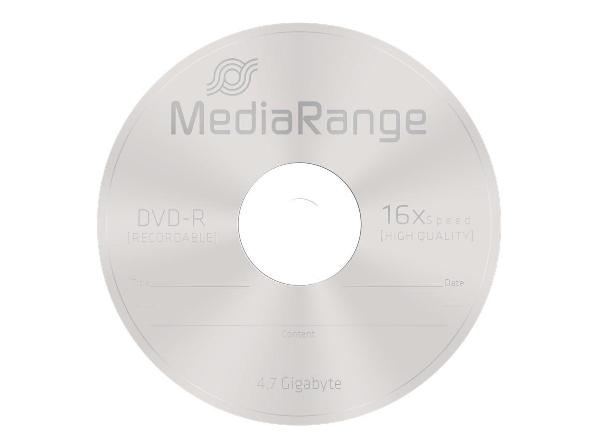 MEDIARANGE 25 x DVD-R - 4.7 GB (120 Min.) 16x