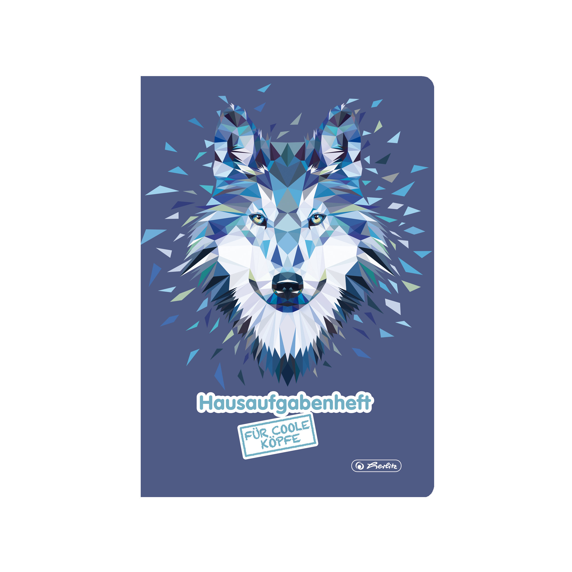 Vorschau: Herlitz 50027835 - Blau - 48 Blätter - Liniertes Papier - A5 - 80 g/m² - Junge/Mädchen