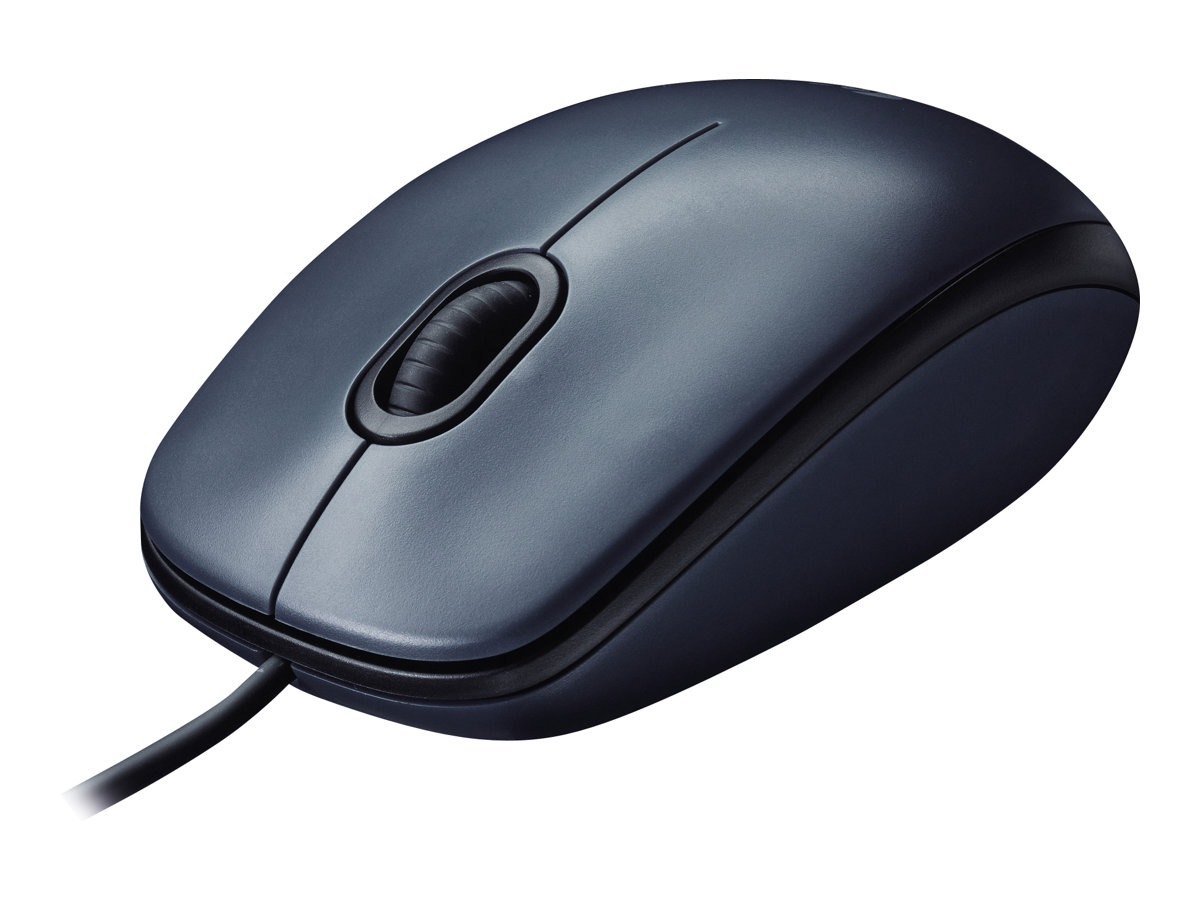 Logitech M100 - Maus - rechts- und linkshändig