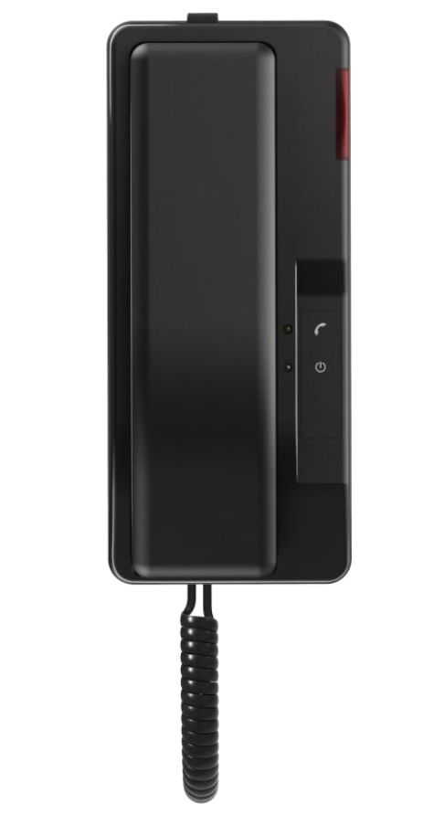 Fanvil H2S - IP-Telefon - Schwarz - Kabelgebundenes Mobilteil - Tisch/Wand - 16 MB - 8 MB