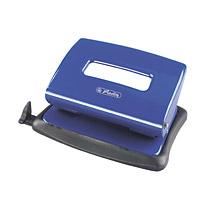 Herlitz 1610450 - Bürolocher - verstellbarer Anschlagschiene - blau