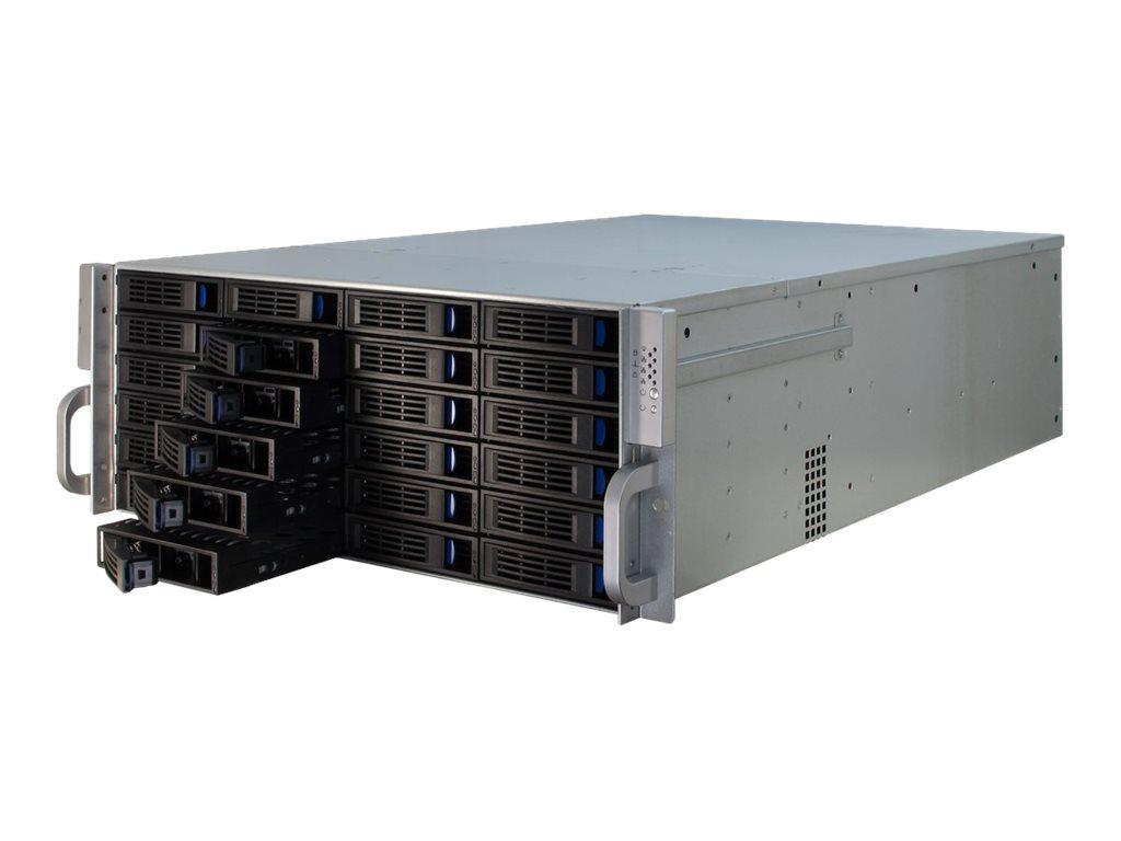 Inter-Tech IPC 4U-4424 - Rack-Montage - 4U - Erweitertes ATX - ohne Netzteil (ATX12V / EPS12V)