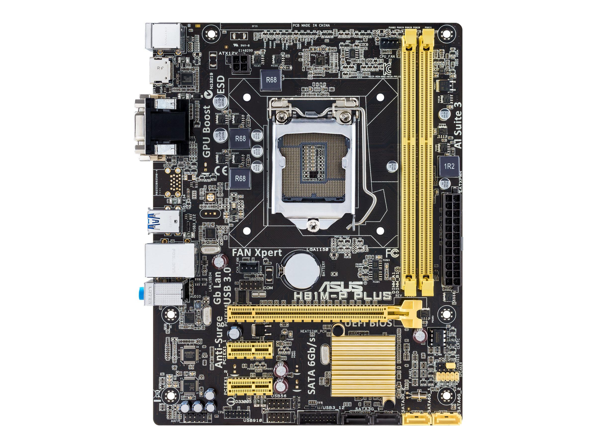 ASUS H81M-P PLUS - Motherboard