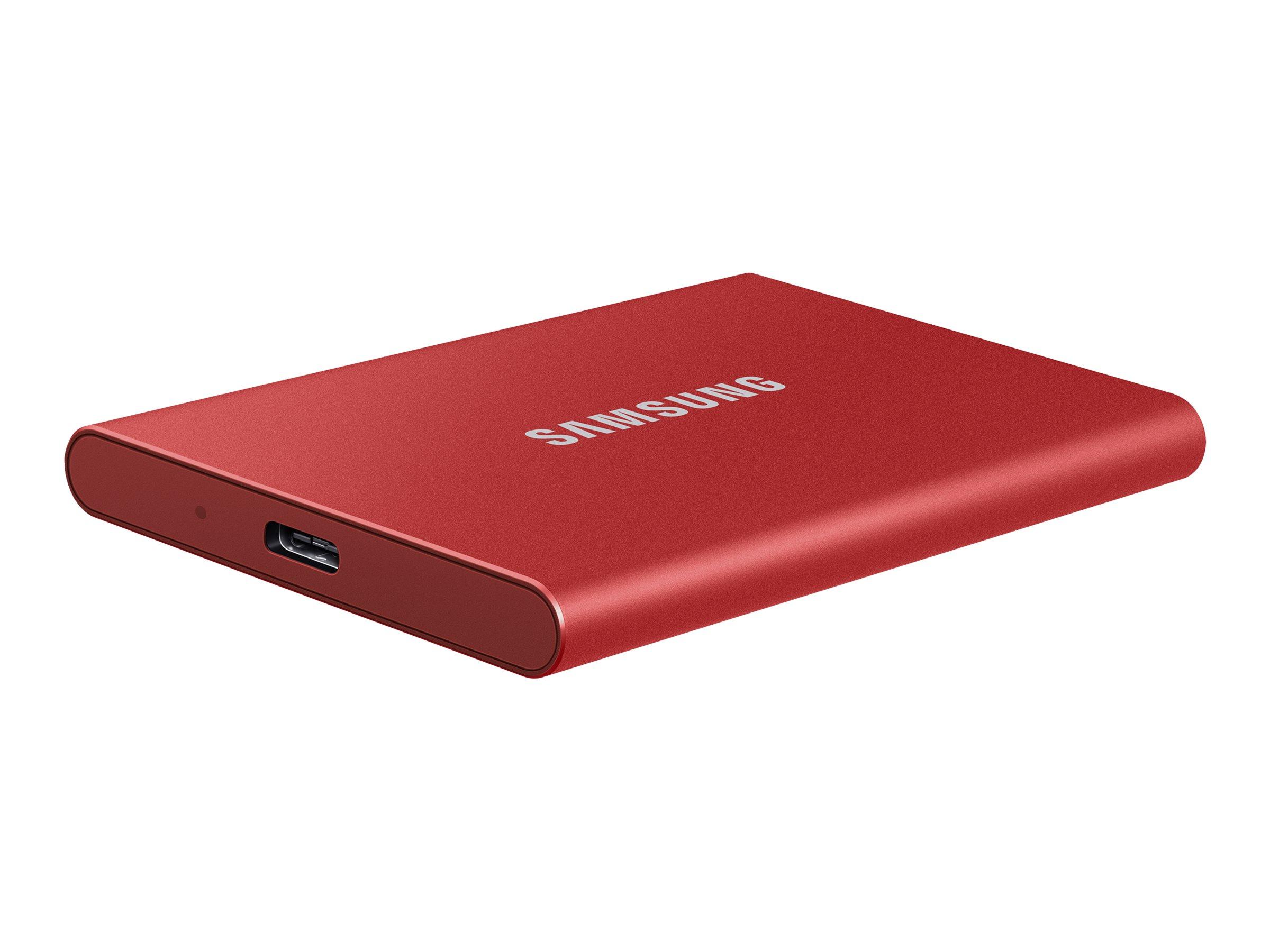 Samsung Portable SSD T7 MU-PC2T0R - 2 TB SSD - extern (tragbar)