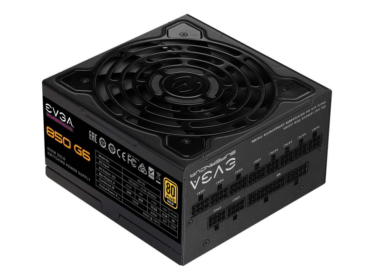 EVGA SuperNOVA 850 G6 - Netzteil (intern) - ATX12V / EPS12V