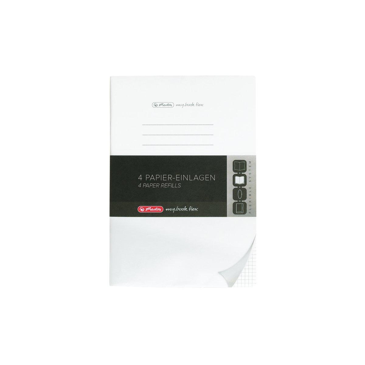 Vorschau: Herlitz 50034161 - Einfarbig - Weiß - A4 - 80 Blätter - Erwachsener