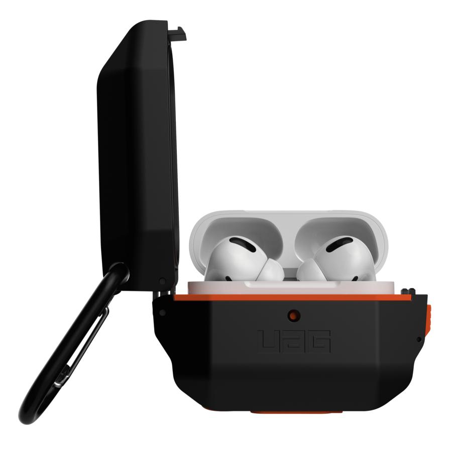 Urban Armor Gear 10225F114097  Case  Apple  Airpods Pro  Silicone,Thermoplastic polyurethane (TPU)  Black,Orange