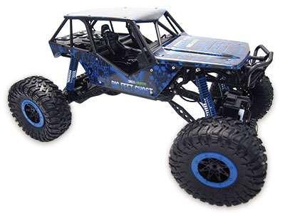 """Amewi 22218 - Raupenfahrzeug - Elektromotor - 1:10 - Betriebsbereit (RTR) - Blau - Crazy Crawler """"Blue"""" 4WD RTR 1:10 Rock Crawler"""