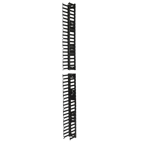 APC AR7580A - Gerade Kabelrinne - Senkrecht - Schwarz - RoHS