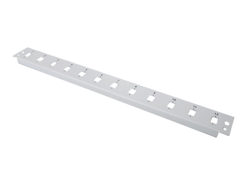"DIGITUS Professional DN-96206 - Glasfaser-Spleißboxpaneel - Hellgrau, RAL 7035 - 1U - 48.3 cm (19"")"