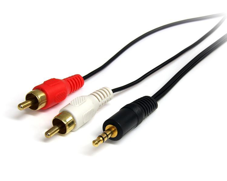 StarTech.com 90cm 3,5mm Klinke auf Cinch Audiokabel - St/St