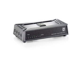 LevelOne 8Port Fast Ethernet Switch Unmanaged Fast Ethernet (10/100) Full duplex